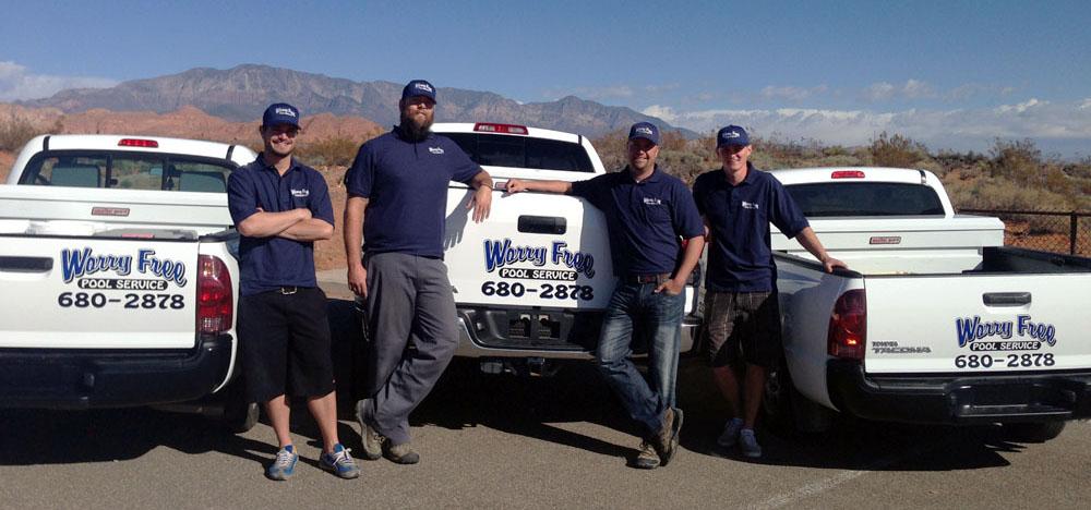 Worry Free Pool Service Team